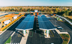 GRIDSERVE opened the UK's first electric forecourt in Essex last year. CREDIT: GRIDSERVE