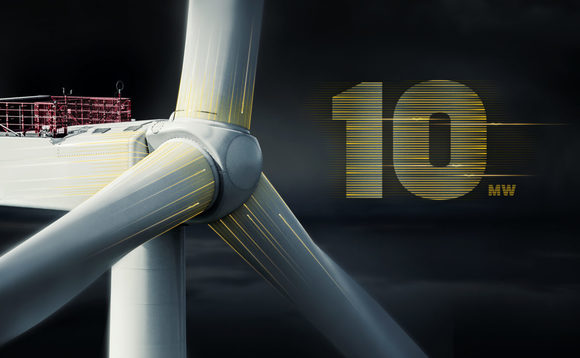 MHI Vestas has unveiled the world's first 10MW offshore wind turbine