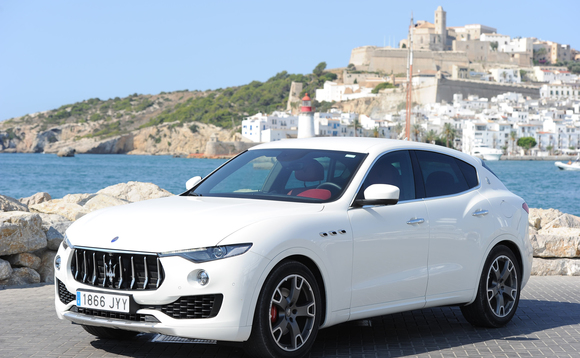 The Maserati Levante is one of the SUV models set to gain an electric drivetrain (photo: Maserati Automotive)