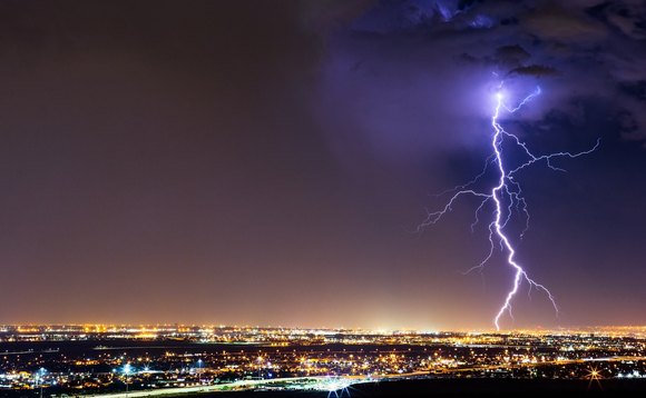 National Grid has found a link between a lightning strike and major outages at two power plants | Credit: mdesigner125