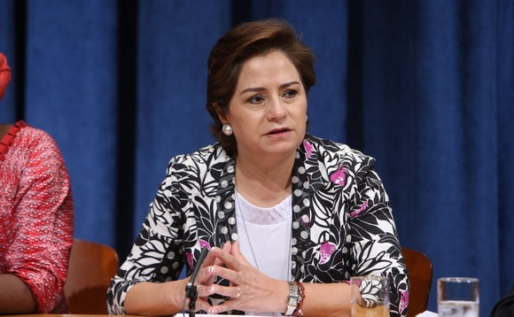 Espinosa: Urgent action needed to avoid 'catastrophic' climate change