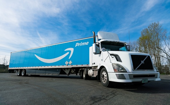 Amazon is set to invest in electric trucks to decarbonise shipments | Credit: Amazon