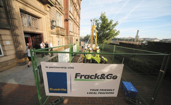 Greenpeace launches legal bid to restrict UK fracking