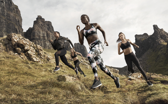 H&M's new sportswear range is made from recycled polyester and elastane | Credit: H&M