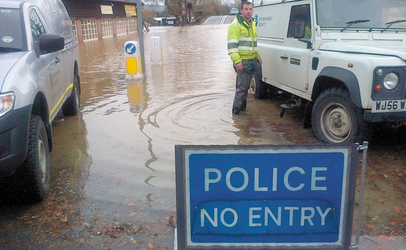 Flood area defences put on hold by government funding cuts