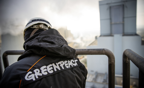 Greenpeace activists invaded the Belchatow coal plant this week | Credit: Greenpeace Poland