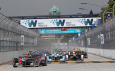 Britain's Sam Bird charges to Formula E victory in Malaysia