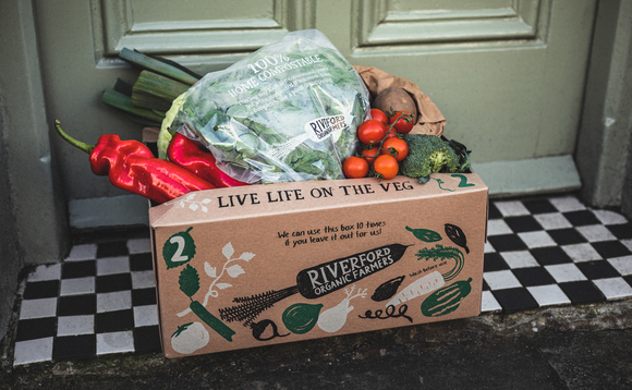 Riverford is ditching single use plastic bags for its deliver boxes | Credit: Riverford