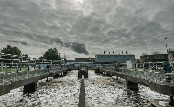 A sewage treatment plant - the starting point for green gas | Credit: GENeco
