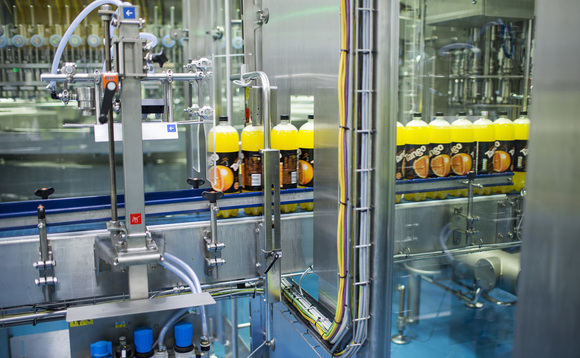 New bottling line at Britvic factory | Credit: Britvic