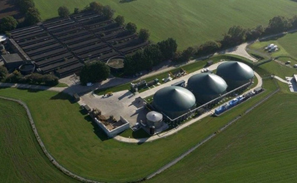 An anaerobic digestion plant, which will receive subsidies under the RHI