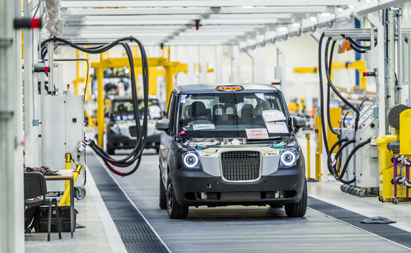 Green cab: London Taxi Company cuts ribbon on £300m electric taxi plant