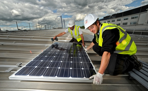 Businesses now generating £80m of onsite renewable energy a year