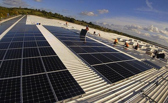 UK's largest community-owned rooftop solar array installed at Oxfordshire aerospace factory