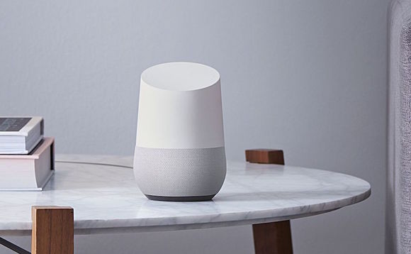 As one of the products in the 'Made by Google' range, the Google Home smart speaker will soon be made with recycled plastics | Credit: Google