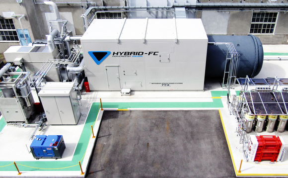 Toyota debuts hybrid fuel cell system at Motomachi factory in Japan. Credit: Toyota