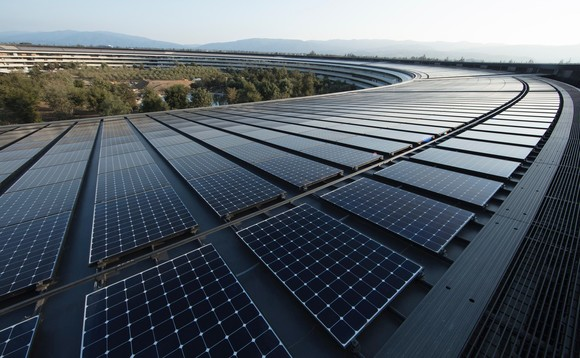 Apple's new headquarters in Cupertino is powered by 100 percent renewable energy