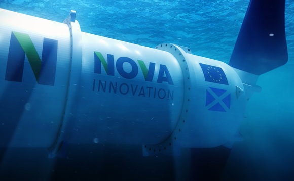 Nova Innovation's tidal turbines incorporate battery storage