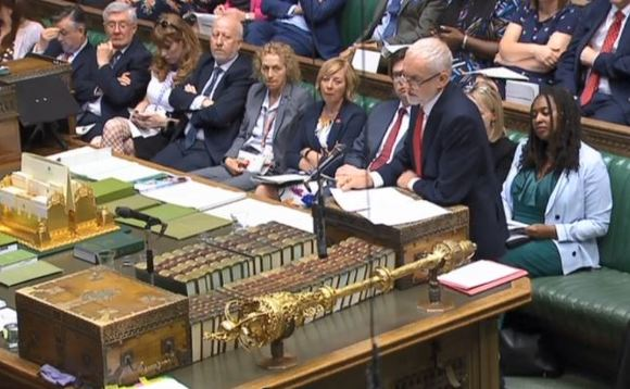 PMQs: Corbyn warns government inaction means UK on track to reach net zero goal by 2099