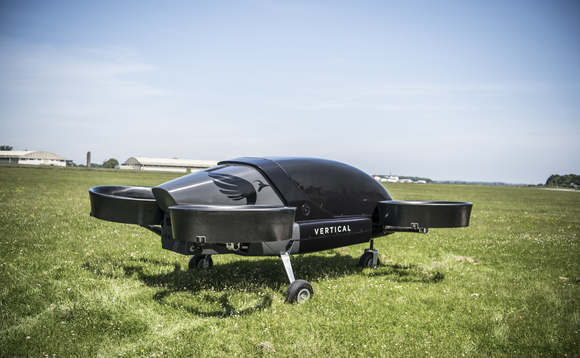 Electric drones could pave the way to low carbon flight | Credit: Vertical Aerospace / GF-Williams
