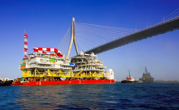 Massive offshore substation sets sail for Wikinger wind farm in Baltic Sea