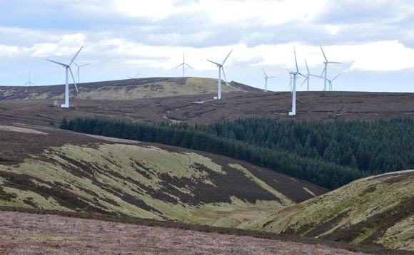 The Bowbeat wind farm in Scotland's southern uplands  | Credit: Jim Barton