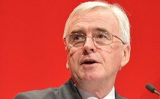 John McDonnell: 'Existential threat to our planet is absolute priority of next Labour government'