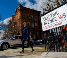 Seeing the light: Siemens powers up UK's first 'Electric Avenue'