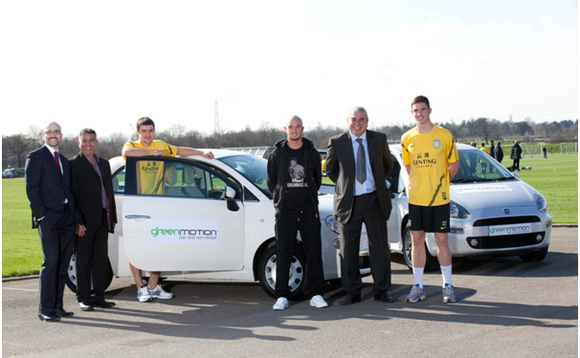 Green taxi deal unveiled as latest signing for Aston Villa
