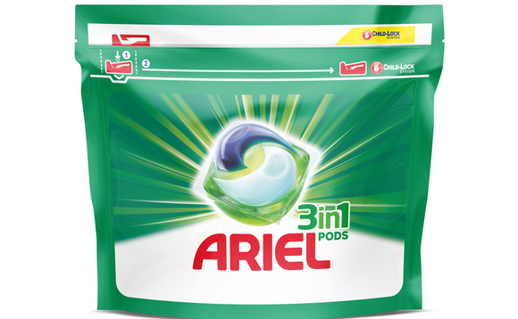 Ariel and Lenor commit to help clean up plastics packaging mountain