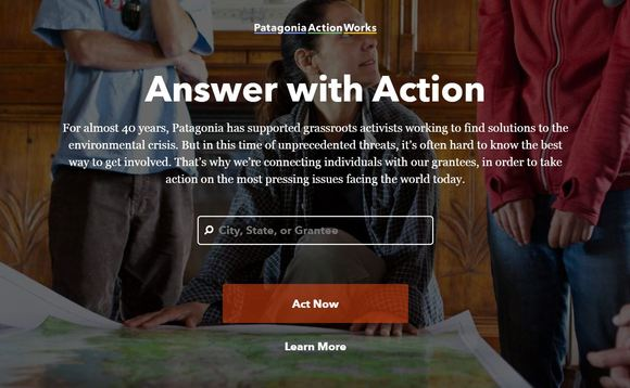Patagonia Action Works is now available in Europe | Credit: Patagonia