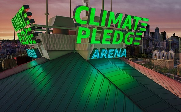 Amazon is planning a 'Climate Pledge Arena' in Seattle | Credit: Amazon