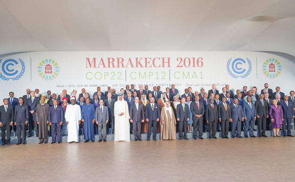 Reflections on the COP22 climate change talks