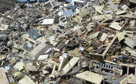 The world discards 50 million tonnes of electronic waste every year