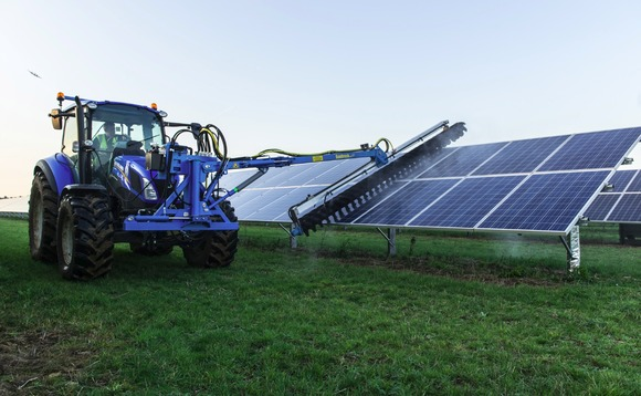 Lightsource unveils new solar panel cleaning technology