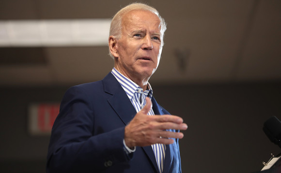 Joe Biden will go up against Trump in the US presidential election in November