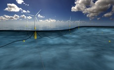 A floating wind farm design / Credit: Statoil