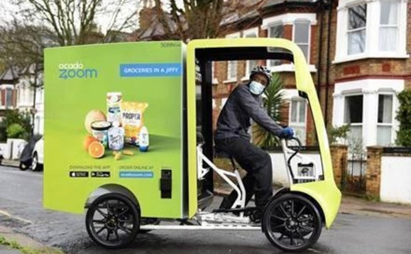 Electric mobility will help Ocado Zoom meet its 2035 net zero target